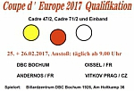 Artikel: Coupe d'Europe Qualifikation beim DBC Bochum